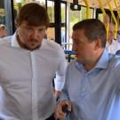 БОЧАРОВ ОЦЕНИЛ ПЕРВЫЙ ЭЛЕКТРОБУС ОТ VOLGABUS Интерес губернатора к электротранспорту отнюдь не праздный