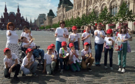 Школьники Волжского